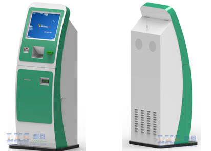 Recharged Bill Payment System Vending Machine , Force Open Alarm System Bill Validator Kiosk