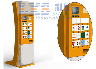 Guests Interactive Area Establishments Information Kiosk Digital Coupon Printing